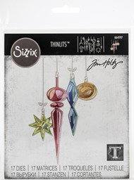 Bild von Sizzix Thinlits Dies By Tim Holtz-Hanging Ornaments