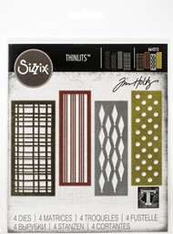 Bild von Sizzix Thinlits Dies By Tim Holtz-Festive Repeat