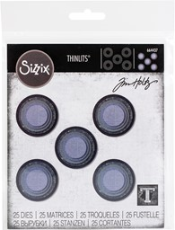 Bild von Sizzix Thinlits Dies By Tim Holtz-Stacked Circles