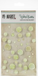 Bild von 49 And Market Epoxy Coated Wishing Bubbles 38/Pkg-Limeade