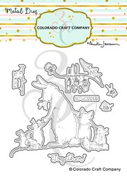 Bild von Colorado Craft Company Metal Die Set-Better Together-By Anita Jeram