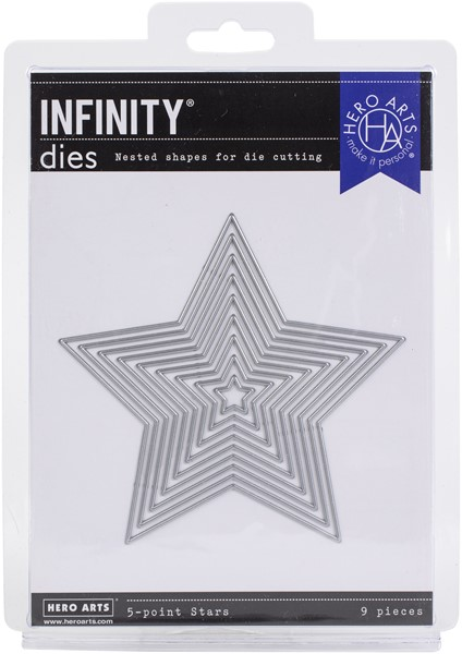 Bild von Hero Arts Infinity Dies-5-Point Stars