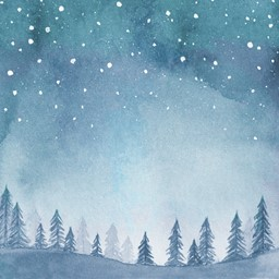 "Bild von Whimsy Wishes Double-Sided Cardstock 12""X12""-Night Sky"