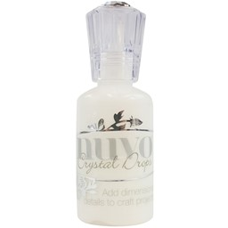Bild von Nuvo Crystal Drops 1.1oz-Gloss White