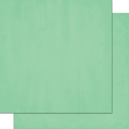 "Bild von BoBunny Double Dot Double-Sided Textured Cardstock 12""X12""-Jade"