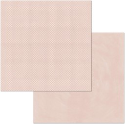 "Bild von BoBunny Double Dot Double-Sided Textured Cardstock 12""X12""-Dusty Rose"