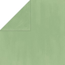 "Bild von BoBunny Double Dot Double-Sided Textured Cardstock 12""X12""-Sweet Pear"
