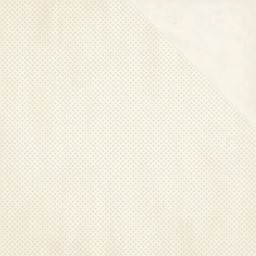 "Bild von BoBunny Double Dot Double-Sided Textured Cardstock 12""X12""-French Vanilla"