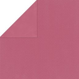 "Bild von BoBunny Double Dot Double-Sided Textured Cardstock 12""X12""-Raspberry"