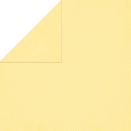 "Bild von BoBunny Double Dot Double-Sided Textured Cardstock 12""X12""-Mellow Yellow"