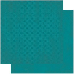 "Bild von BoBunny Double Dot Double-Sided Textured Cardstock 12""X12""-Deep Sea"