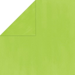 "Bild von BoBunny Double Dot Double-Sided Textured Cardstock 12""X12""-Kiwi"