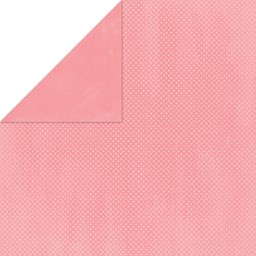 "Bild von BoBunny Double Dot Double-Sided Textured Cardstock 12""X12""-Flamingo"