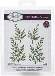 Bild von Creative Expressions Festive Craft Dies By Sue Wilson-Evergreen Branches