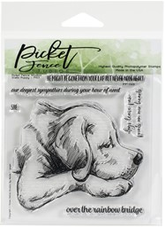 "Bild von Picket Fence Studios 4""X4"" Stamp Set-Stella Puppy"