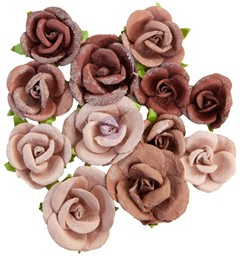 Bild von Prima Marketing Mulberry Paper Flowers-Sahara/Golden Desert