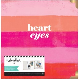 "Bild von Heidi Swapp Storyline 3 D-Ring Album 8.5""X11"" Heart Eyes Kit"
