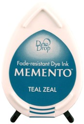 Bild von Memento Dew Drop Dye Ink Pad-Teal Zeal