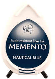 Bild von Memento Dew Drop Dye Ink Pad-Nautical Blue