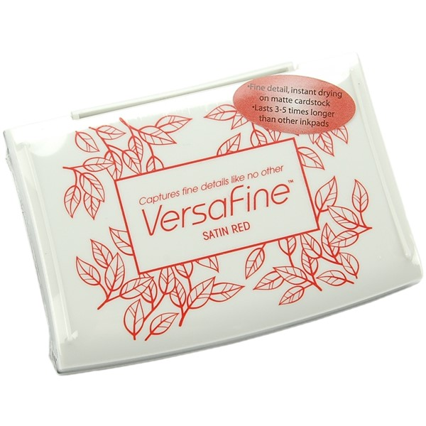 Bild von VersaFine Pigment Ink Pad-Satin Red