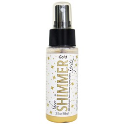 Bild von Sheer Shimmer Spritz Spray 2oz-Gold