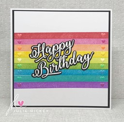 Bild von Julie Hickey Designs Stamp & Die Set-Happy Birthday