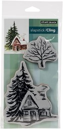 Bild von Penny Black Cling Stamps-Cozy Cabin
