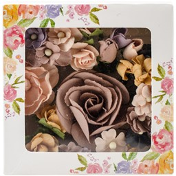 Bild von Prima Marketing Mulberry Paper Flowers  -Hollybrook/Bouquet Mix