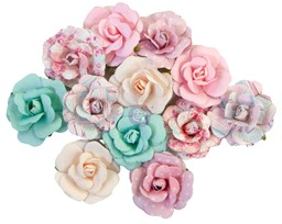 Bild von Prima Marketing Mulberry Paper Flowers-Lovely Bouquet/With Love