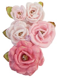 Bild von Prima Marketing Mulberry Paper Flowers-True Friends/With Love
