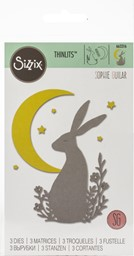 Bild von Sizzix Thinlits Dies By Sophie Guilar-Midnight Hare