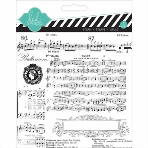 Bild von Heidi Swapp Clear Stamps Stempel - Music Notes