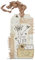 Bild von Creative Expressions Craft Dies By Sam Poole-Shabby Basics- Cheesecloth