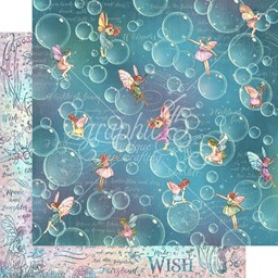 "Bild von Fairie Wings Double-Sided Cardstock 12""X12""-Blowing Bubbles"
