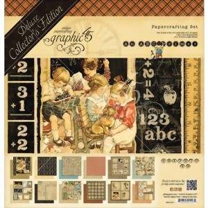 Bild von Graphic 45 Deluxe Collector's Edition Pack Projektkit - ABC Primer Collection