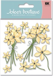 Bild von Jolee's Boutique Dimensional Stickers-Cream Floral