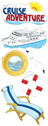 Bild von Touch Of Jolee's Dimensional Stickers-Cruise Adventure