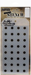 "Bild von Tim Holtz Layered Stencil 4.125""X8.5""-Shifter Dots"