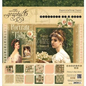Bild von Graphic 45 Designblock Papierblock - Portrait Of A Lady Collection