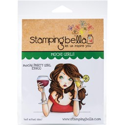 Bild von Stamping Bella Cling Stamps-Mochi Party Girl