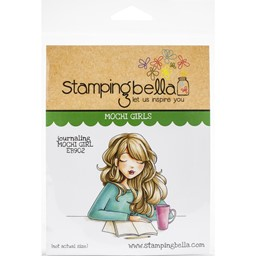 Bild von Stamping Bella Cling Stamps-Journaling Mochi Girl
