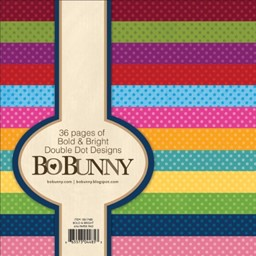 "Bild von BoBunny Single-Sided Paper Pad 6""X6"" 36/Pkg-Bold & Bright"