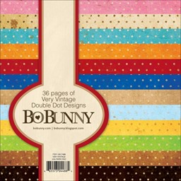 "Bild von BoBunny Single-Sided Paper Pad 6""X6"" 36/Pkg-Very Vintage"
