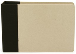 "Bild von American Crafts Modern D-Ring Album 6""X6""-Black"