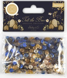 Bild von Craft Consortium Tell The Bees Sequins-Special Edition
