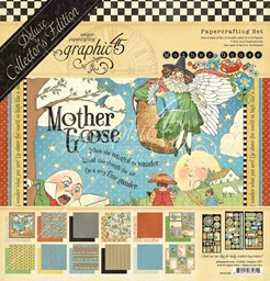 "Bild von Graphic 45 Deluxe Collector's Edition Pack 12""X12""-Mother Goose"
