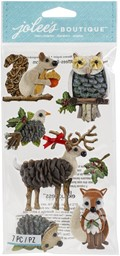 Bild von Jolee's Boutique Themed Embellishment-Woodland Animals