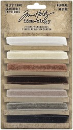 Bild von Idea-Ology Velvet Trims 7/Pkg-Neutral