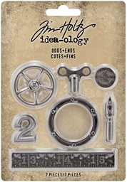 Bild von Idea-Ology Metal Odds & Ends 7/Pkg-Antique Nickel
