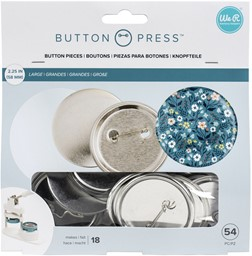 Bild von We R Memory Keepers Button Press Refill Pack 18/Pkg-Large (58mm)
